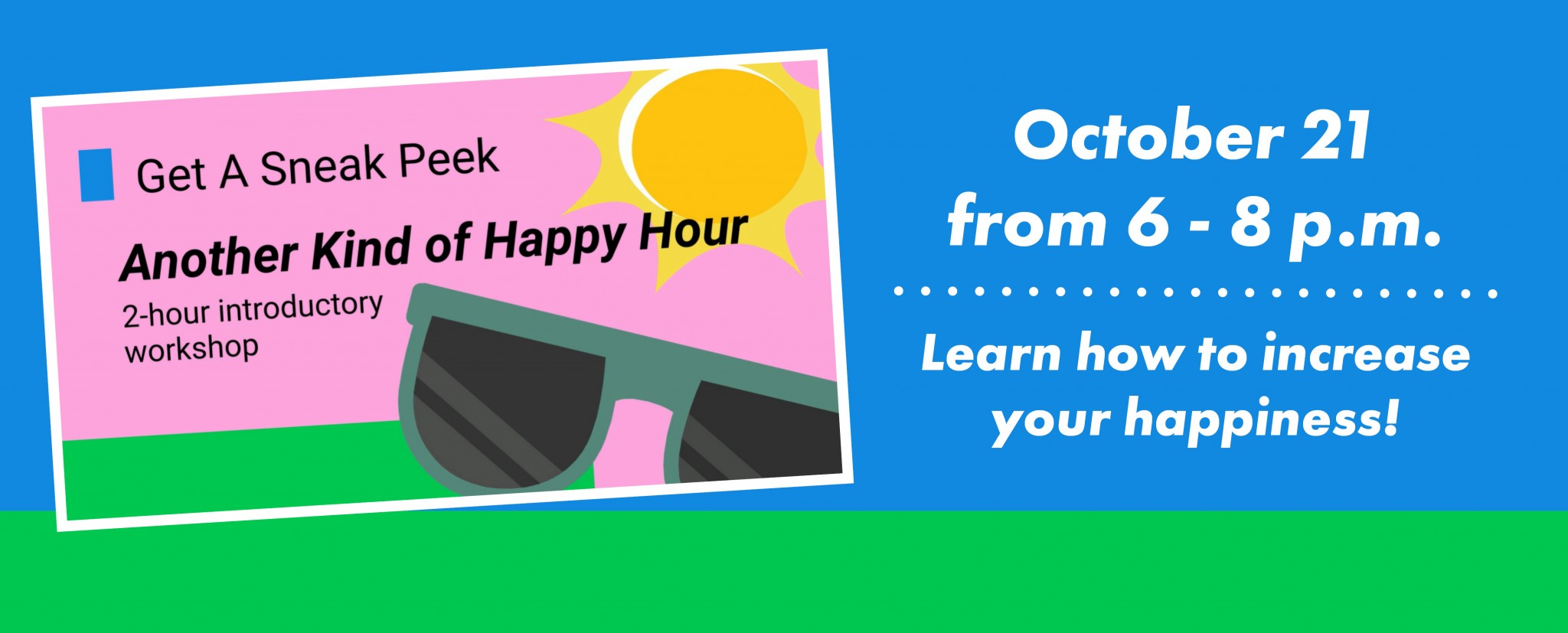 Another Kind of Happy Hour Banner