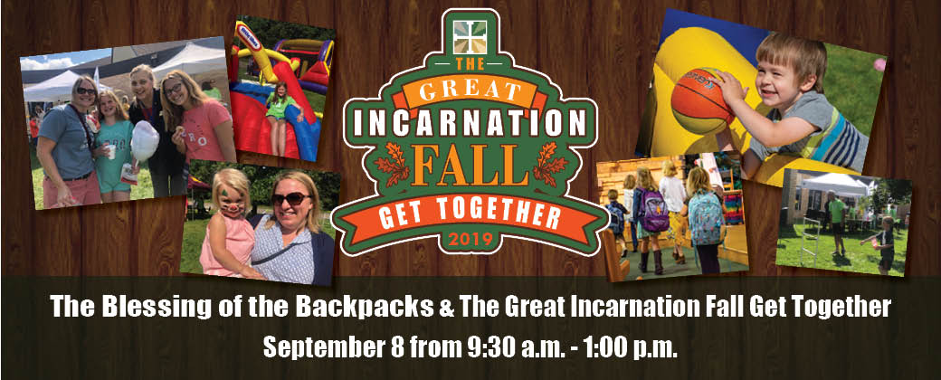 Blessing of Backpacks and Great ILC Fall Get Together 2019