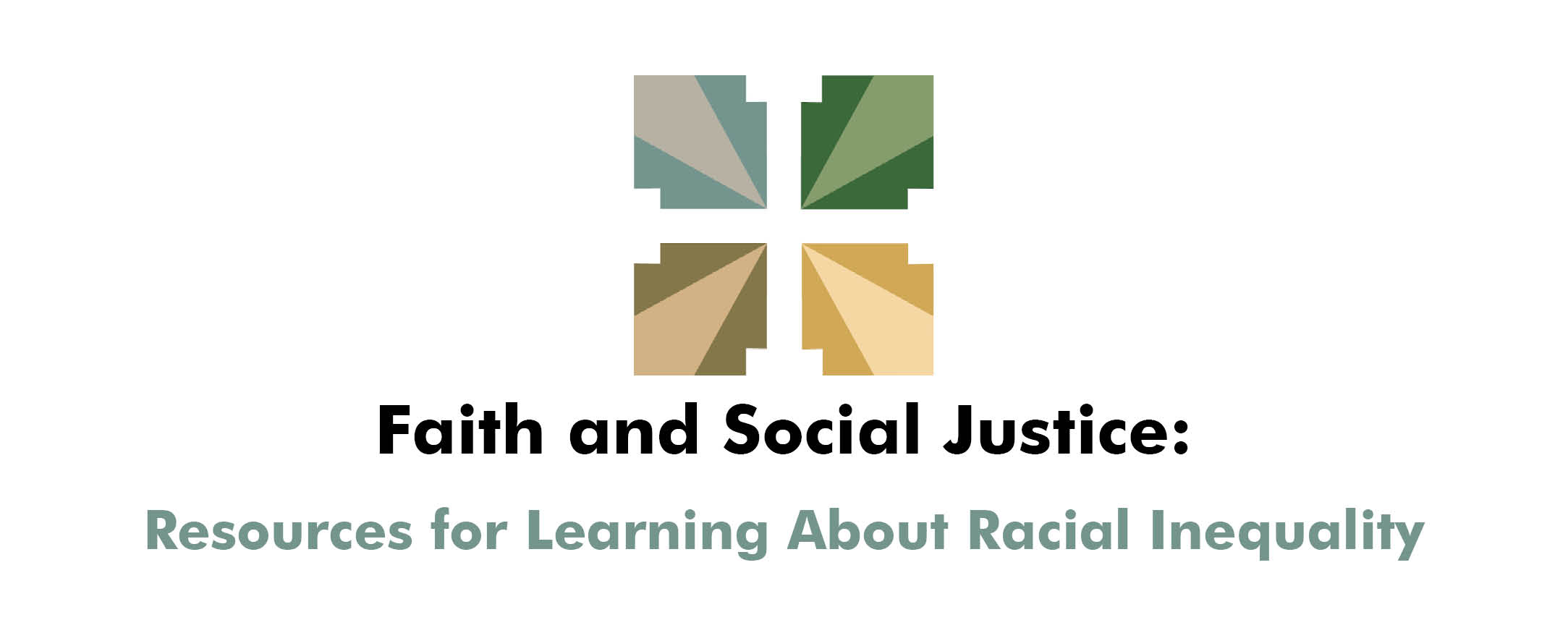 Faith and Social Justice web banner