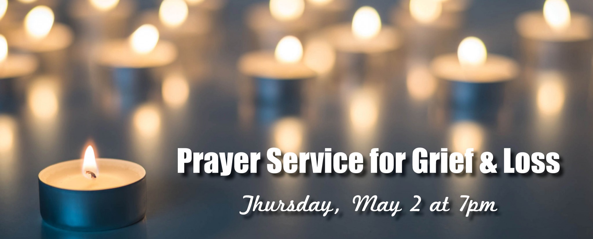 Prayer Service for Grief and Loss