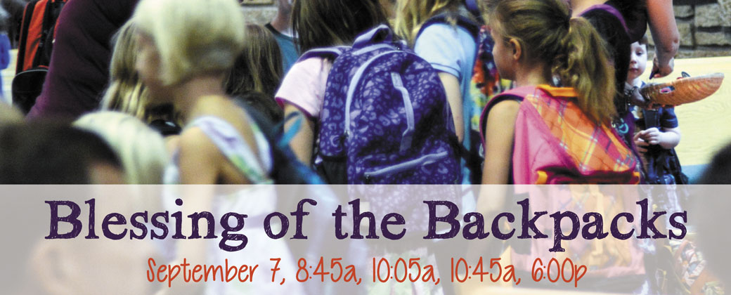 blessing of backpacks 2014
