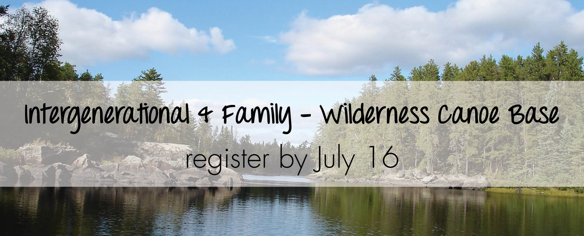 intergenerational and family camp