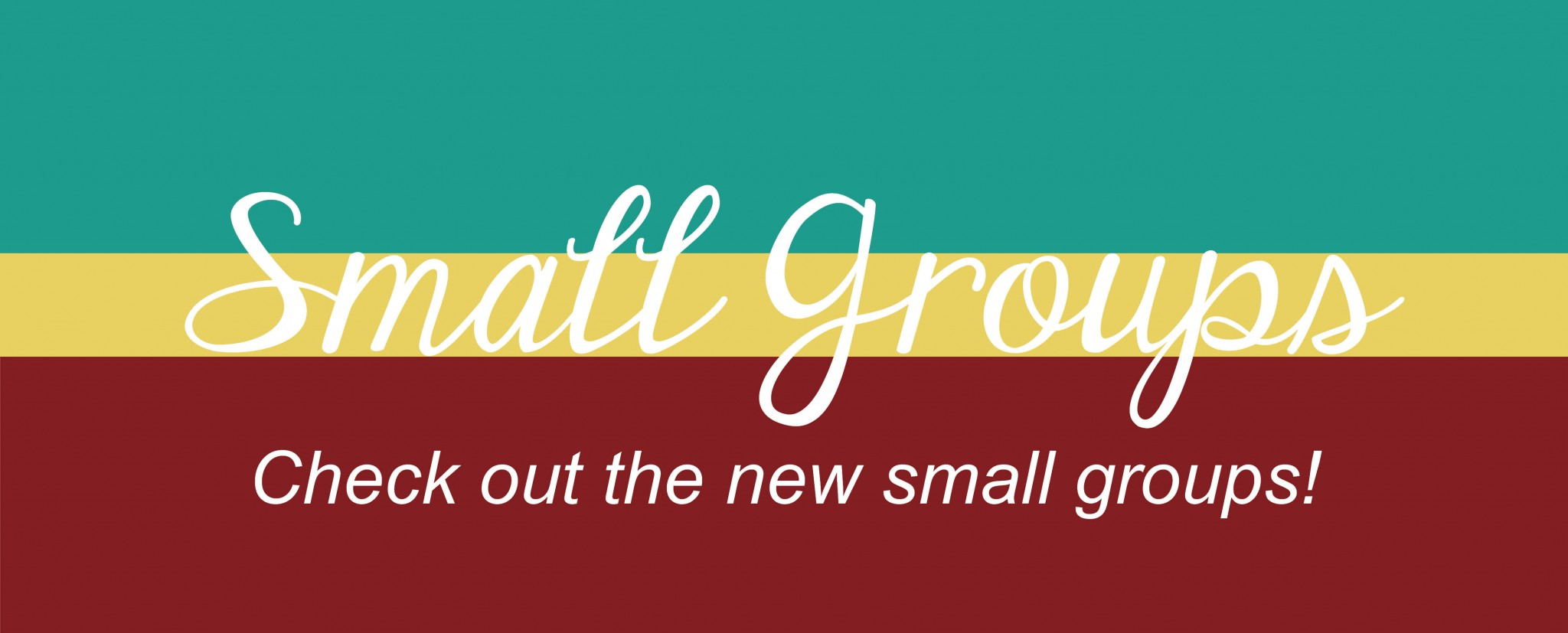 small groups fall
