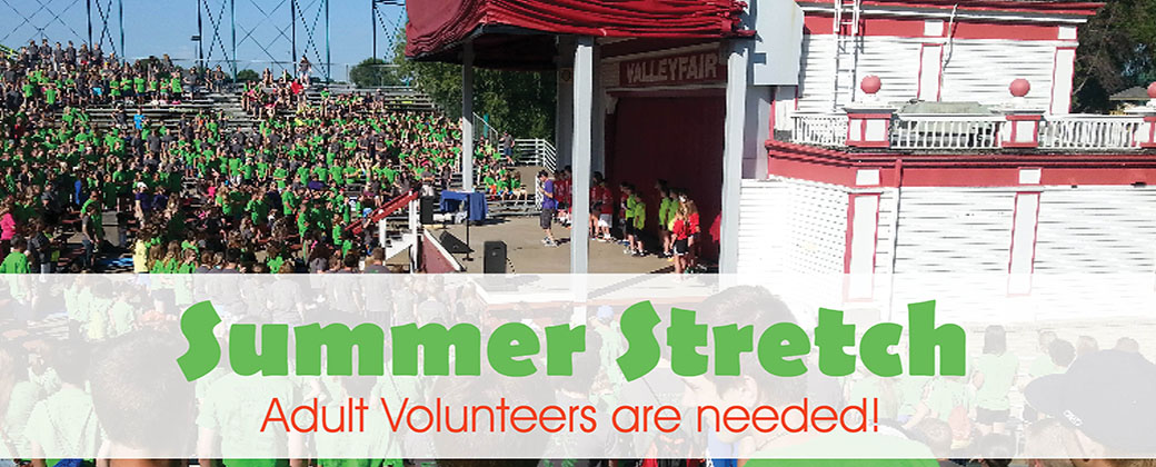 summer stretch adult volunteers