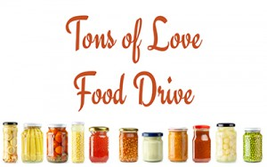 Tons of Love Food Drive