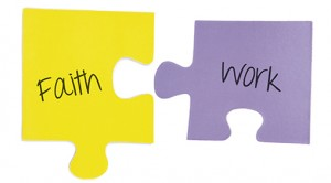 Faith & Work puzzle pieces