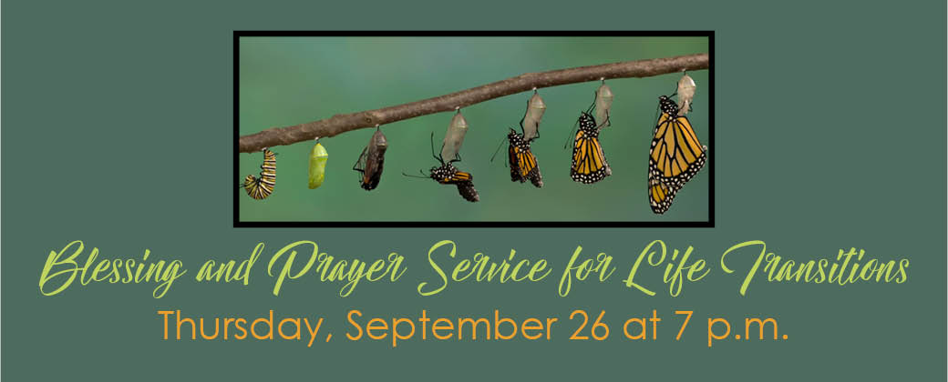 Prayer Service for Life Transitions